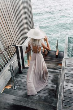 Pretty Dresses in the Maldives