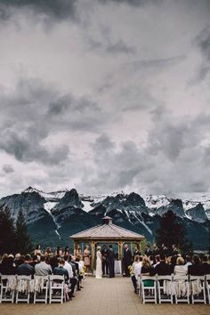 Se marier à la montagne - Getting married in moutains!