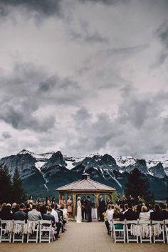 Se marier à la montagne - Getting married in moutains!