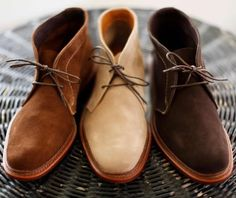 Allen Edmonds' American-made Goodyear-welted desert boots are the kind of shoes that will get you through any situation. Best Shoes For Men, Men S Shoes, Desert Boots, Foto Fashion, Mens Fashion, Style Fashion, Fashion Shoes, Girl Fashion, Luxury Fashion