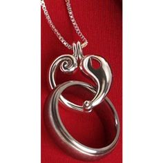 Wedding Ring Holder Necklace
