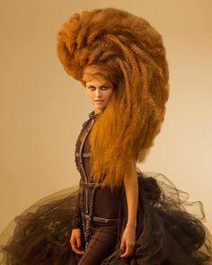 Avant Garde hair by Konstantinos Lefas.