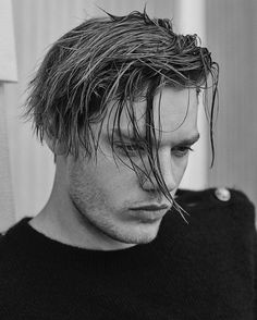 Dominic Sherwood for the A/W16 issue of Hercules Universal. Photo: Bruno Staub.