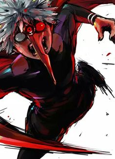 Kaneki Ken | Centipede | Tokyo Ghoul http://touch.pixiv.net/member.php?id=689576
