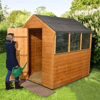 7' x 5' (2.03x1.50m) Shed-Plus Classic Overlap Apex Shed. £178.99 (save £56).  http://www.shedstore.co.uk/garden-sheds/popular-sizes/garden-sheds/7x5-sheds/7-x-5-shed-plus-classic-overlap-apex-shed