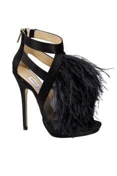 Sandalias con plumas de Jimmy Choo