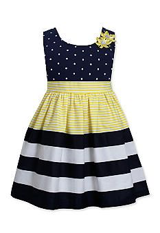 Bonnie Jean Little Girls Dot Stripe Banded Yellow Dress 6 Easter Dresses For Toddlers, African Dresses For Kids, Toddler Girl Dresses, Toddler Girls, Girls 4, Baby Girls, Little Girl Dresses, Girls Dresses, Baby Dresses