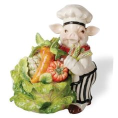 Kaldun and Bogle 115856 Chef Pig Cabbage Cookie Jar by Kaldun and Bogle, http://www.amazon.com/dp/B005DSCCY6/ref=cm_sw_r_pi_dp_zNGDqb03KCRRD