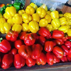 It's A PepperFall  we ALways have Fresh Beautiful Peppers in all 4 colours  #alwaysfresh #alwayslocal #leeandmarias