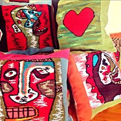 Bright and delightful scatter cushions!