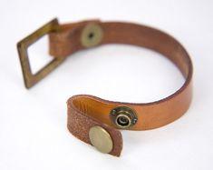 LoopEnd Leather Strap Bracelet Blank FOCAL NOT by TafuriStudios More See related items on Fanatic Leather Store. Leather Art, Leather Cuffs, Leather Design, Leather Tooling, Leather Jewelry, Leather Bracelets, Metal Jewelry, Ammo Jewelry, Leather Store
