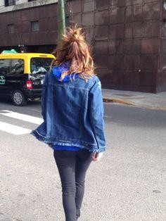 Oversize Denim Jacket by Madness Clothing
