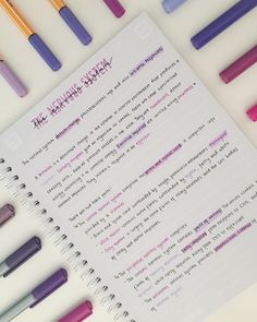 Love when my notes are all purple and pretty like this, can use loads of different shades and it actually looks half decent!! I'm giving myself a break from studying until Christmas is over, then I'm gonna smash some revision towards my exams ☺️ Hope everyone has a nice break and doesn't work too hard!💕#studygram #studyspo #studyblr #studyspo #alevels