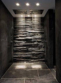 Mirar la ducha, algo con srta iluminación