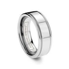 ARDENT-8MM   Perfect for him or her, the Ardent is timeless. It is a highly polished durable tungsten carbide ring with two parallel polished grooves to give it accent.