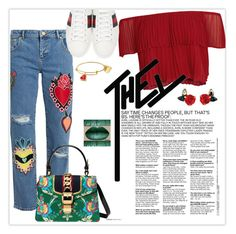 """""""Gucci Chic!"""" by babytrell on Polyvore featuring House of Holland, Keepsake the Label and Gucci"""