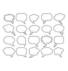 Blank empty speech bubbles for infographics vector Sheep Vector, Cow Vector, Evil Cartoon Characters, Free Vector Images, Vector Free, Vector Power, Family Logo, Family Vector, Globe Vector