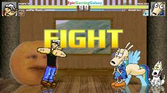 The Annoying Orange & Popeye The Sailor Man VS Rocko & Rainbow Dash In A MUGEN Match / Battle This video showcases Gameplay of The Annoying Orange And Popeye The Sailor Man VS Rocko From The Rocko's Modern Life Series And Rainbow Dash From The My Little Pony Friendship Is Magic Series In A MUGEN Match / Battle / Fight