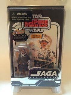 Star Wars Vintage Style Saga Collection Han Solo Hoth Outfit MOSC | eBay