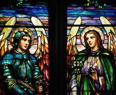 Chancel Stained Glass Windows Hellenic Orthodox Church of the Annunciation Former North Presbyterian Church 146 West Utica Street, Buffalo, NY 14222 Lamb Studios window