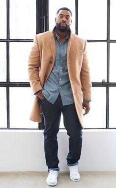 LaRoyce Hawkins ❤ Gorgeous Black Men, Handsome Black Men, Beautiful Men, Sharp Dressed Man, Well Dressed Men, Stylish Men, Men Casual, Chocolate Men, Dapper Men