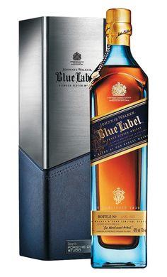 Johnnie Walker Blue Label Porsche Scotch Whisky