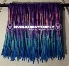 Handmade wooldreads from @nvcl3arbvtt3rfly #nvcl3arbvtt3rfly #wooldreads #holidayspecial #violethair #violetdreads #orchidsky #skyblue #tealhair #pinkdreads #bluehair #bluedreads #bluewave #purplerain #shortdreads #woolies #instadreads #fauxlocs #protectivestyles #altfashion #handmade #cheyennehale Teal Hair, Violet Hair, Wool Dreads, Dreadlocks, Pink Dreads, Short Dreads, Galaxy Hair, Synthetic Hair Extensions, Faux Locs