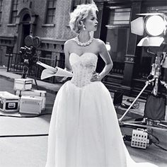 hollywood glam wedding ideas   Old Hollywood-Inspired, Glamorous Wedding Gowns   Wedding Dresses ...