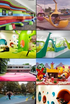cool play areas for kids AMAZIN