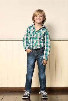 M2A Jeans | Fall Winter 2014 | Kids Collection | Outono Inverno 2014 | Coleção Infantil | peças | camisa xadrez infantil; calça jeans infantil; jeans; denim.