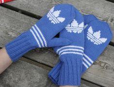 Marimekko, Fingerless Gloves, Arm Warmers, Knitting Patterns, Long Scarf, Beanies, Tutorials, Breien, Fingerless Mitts