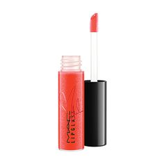 Miley Cyrus's new shade of VIVA GLAM Lipglass in a super-sexy bright orange hue.