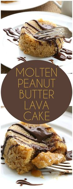 This low carb Molten Peanut Butter Cake is the best dessert ever. Less than 5 g net carbs per serving.