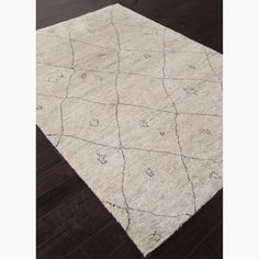 Hand-Made Ivory/ Brown Wool Textured Rug (8x10) - Overstock™ Shopping - Great Deals on Jaipur 7x9 - 10x14 Rugs