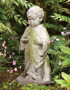 Our Garden Statue Depicts St. Francisu2014patron Saint Of Animals And The  Environmentu2014