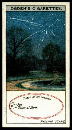 Cigarette Card - Falling Stars