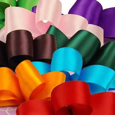 best prices and colors for high yardage satin ribbon
