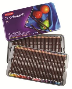 Coloursoft Pencils 72 Tin