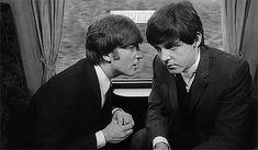 """inthebeatleslife:  """""""" ♡ THE DAY JOHN MET PAUL ♡ July 6, 1957  """" """""""