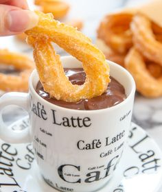 Spanish Churros with Chocolate | Kirbie's Cravings | A San Diego food & travel blog