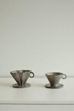 Masanobu Ando - ceramic coffee funnels