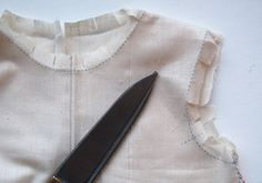 make a muslin to test + some others tips that look useful (carbon paper, serrated roller )