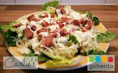 Salade met zuurkool en rookworst