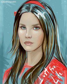Lana Del Rey #Lust_For_Life #art