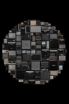 circle of speakers. #music #speakers #sound http://www.pinterest.com/TheHitman14/music-in-picture-%2B/