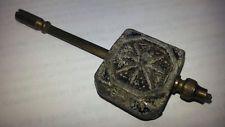 Antique Adjustable Mantle Clock Pendulum Unique See Images #153
