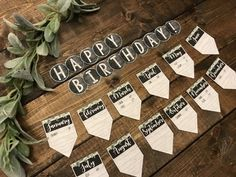 Birthday Display Editable (Farmhouse Classroom Decor) Always aspired to learn to knit, but unclear the place to start? This Overall Beginner Knitting Collection is exactly wh. Birthday Display In Classroom, Birthday Bulletin Boards, Birthday Wall, Rustic Birthday, Classroom Displays, Classroom Organization, Birthday Display Board, Birthday Banners, Birthday Parties