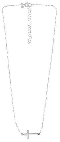 Boma Sterling Silver Sideways Cross Necklace Something Silver. $44.00. Boma: jewelry for life; Free standard shipping with $25 orders; Adjustable sterling silver chain; Sterling silver sideways cross necklace; Complimentary gift packaging