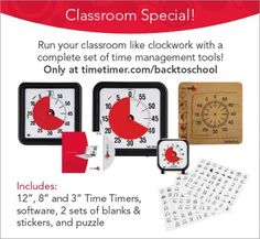 Time Timer | Visual Timers, Classroom Timers, Time Timers