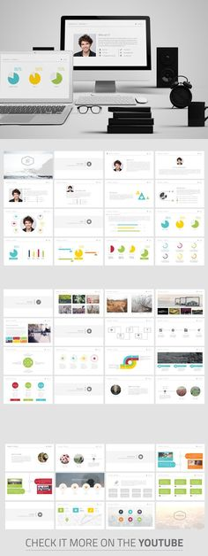 Personal CV Powerpoint Template. Business Infographic. $12.00